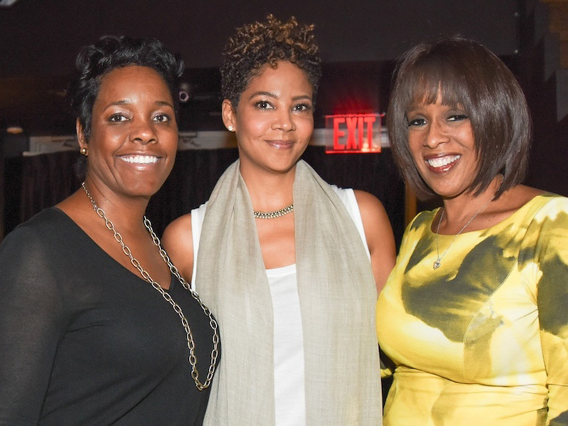 Marla, Tracy Wilson-Mourning, and Gayle King