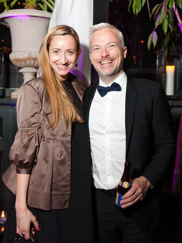 Ben Skinner and Melanie Berliet