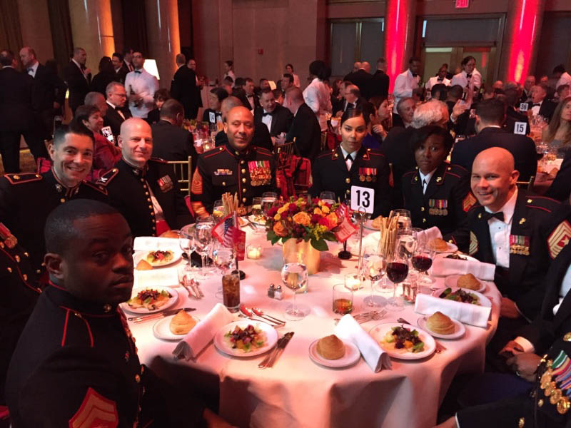 USMC Gala Table
