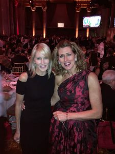 C-LEF Executive Director Sue Boulhosa and Linda Rizk