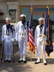 USS Carl Vinson Color Guard
