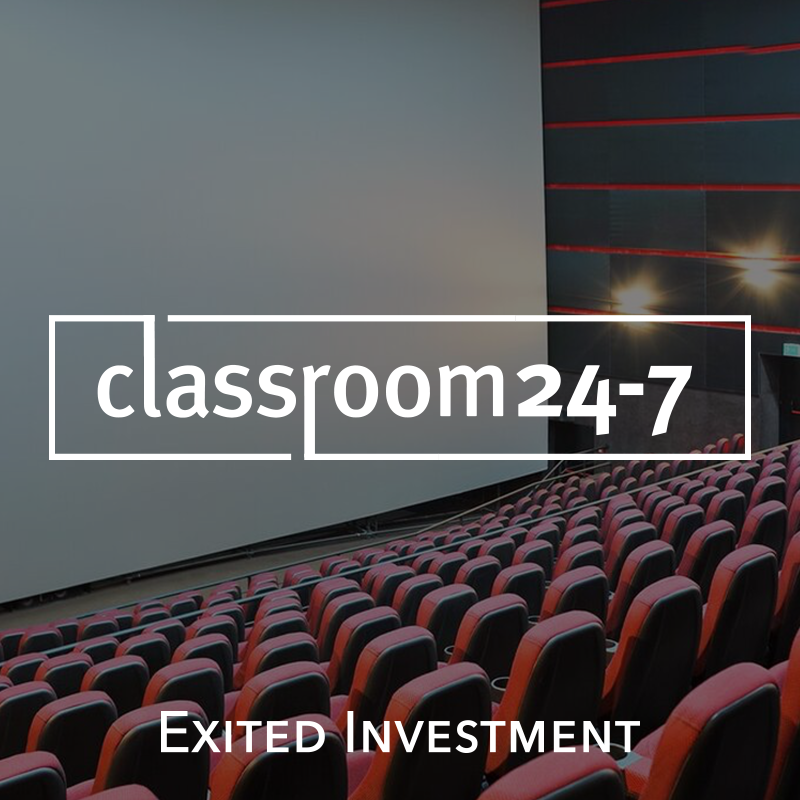 Classroom24-7 Exite Investment