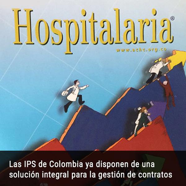 3. Las IPS de Colombia ya disponen de una solución integral para la gestión de contratos