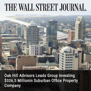 25. Oak Hill Advisors Leads Group Investing 326.5 Million